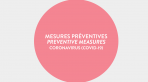 MESSAGE IMPORTANT – CORONAVIRUS (COVID-19)