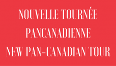 A pan-Canadian tour for emerging artists in 2019-2020